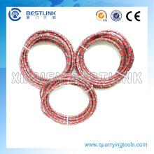 Cuerda de alambre de diamante para la extracción de mármol