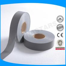 EN20471 Clase 2 tiras grises reflectantes de alta visibilidad para coser