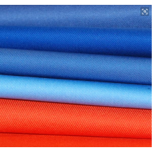 90% Polyester 10% Cotton Twill Fabric Solid Dyed