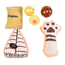 6Pcs Durable Wholesale Cat Interactive Toys Pet Cat Toy