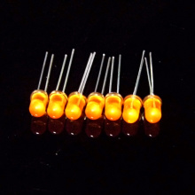 Ultra Bright Amber 5mm Throuh-hål LED