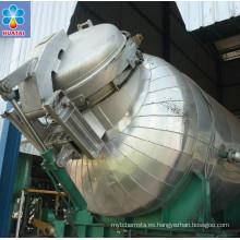 Máquina de la prensa del aceite de palma de 15T / H FFB al CPO, precio de la máquina de proceso del aceite de palma
