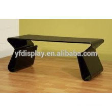 High quality black acrylic coffee table and living room table