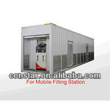 CS40 series heavy duty high flow fuel dispenser for mobile petrol staion