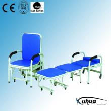 Stahl lackiert Faltbares Krankenhaus Begleitstuhl (W-2)