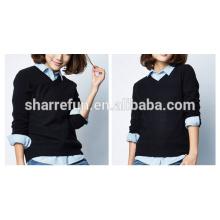 100% Kaschmir Damen stilvolle Pullover