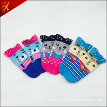 Cotton Young Girl 3D Knitted Socks