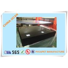 Vacuum Forming Schwarz PVC Steifen Blatt