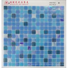 Mosaico de vidrio Iridium para piscina