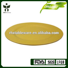 recycled bamboo food service plate