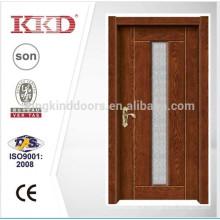 Простое обслуживание резиденции соизволил стальная деревянная дверь кДж-709 стеклом от Китая Топ бренда KKD