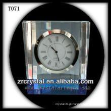 Maravilhoso K9 Crystal Clock T071