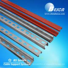 Canal de aço de perfil C com padrão UL, cUL, CE, IEC, NEMA