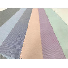 T / C Stretch Tejido de hilo Dobby Stripe Fabric