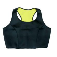Неопрена тренировки Термальная уменьшая потоотделение горячие спортивные бюстгальтеры (WU8017)