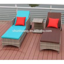 Outdoor rattan lounge sofa