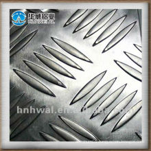 kitchen flooring 5-bars pattern Aluminum tread plate