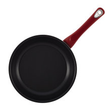 Fornecedor de Amazon Salpicado Cast Iron Nonstick Cookware Frypan Preto