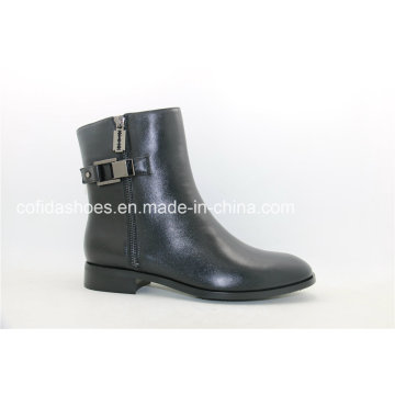 2016fw Trendy Women Leather Boots for Fashion Lady