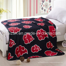 Vente en gros 100% Polyester Cartoon Coral Fleece Blanket