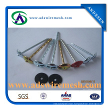 Umbrella Head Galvanized Roofing Nail with Washer (ADS-RN-4)
