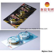 100 м бумажной карты упаковка супер моно нейлона линии