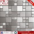 China fábrica fornecimento grande telha de mosaico de aço inoxidável Hexagonal