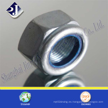 Tuerca hexagonal de nylon fabricada en China
