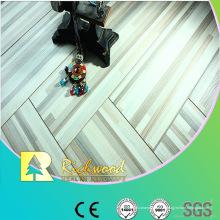 Plancher de Lamiante gaufré par chêne de relief de 12mm de ménage