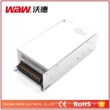 Fuente de alimentación de la transferencia de 600W 24V 25A con la protección del cortocircuito