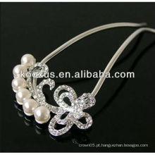Melhor jóia nupcial do ornamento do cabelo da fábrica direta de China