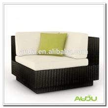 Audu Black Rattan Garden Элегантный стул