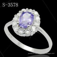 Joyería de moda 925 Anillo de plata esterlina
