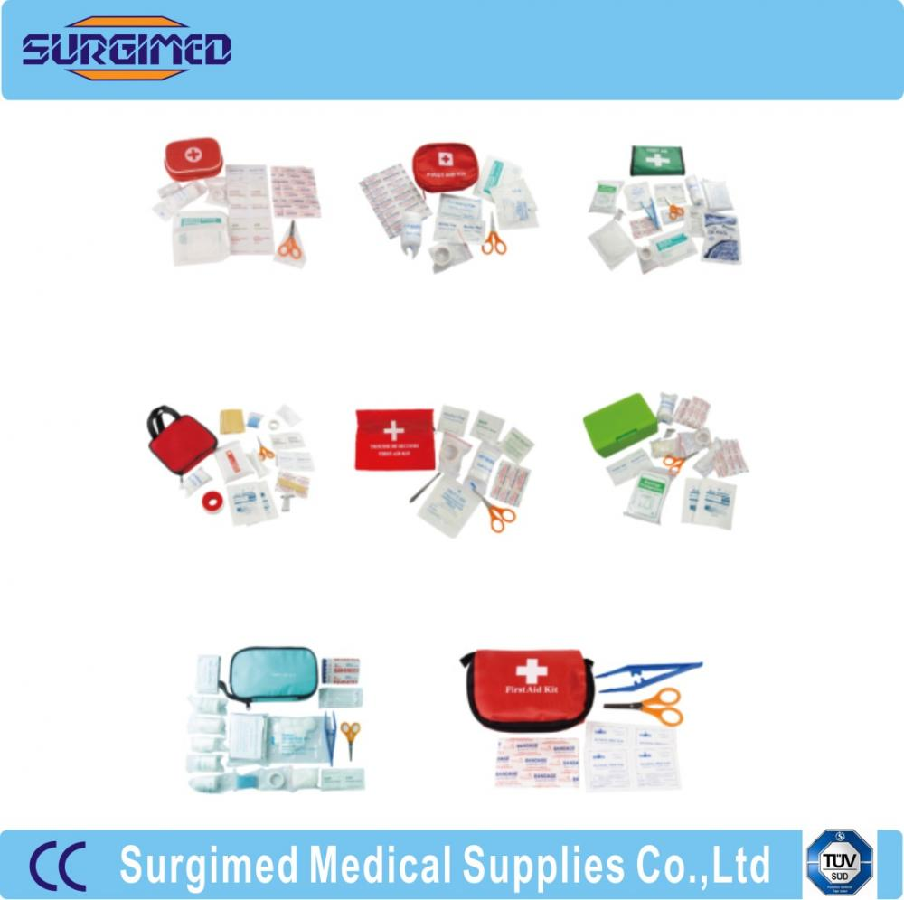Different Nylon Handy Portable Travelling First Aid Kit