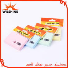 Cheap Self Adhesive Neon Sticky Note Fancy Memo Pad (SN016)