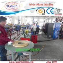 Línea de producción de la máquina de la extrusión de la venda del borde del PVC de la extrusora del solo tornillo