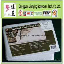 Carpeted Floor Rug Pad Comply with RoHS, Dural Non-Slip Rug Pad