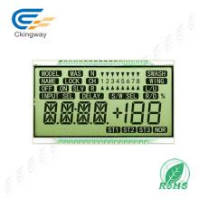 Painel de indicador positivo reflexivo do tipo FSTN do caráter do LCD