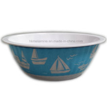 6inch Round Melamine Bowl with Logo (BW7057)