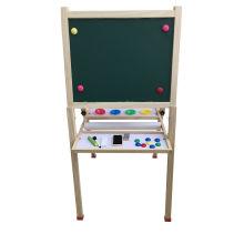 Hot Christmas Gift Wooden Magnetic Standing Art Easel for Kids and Children