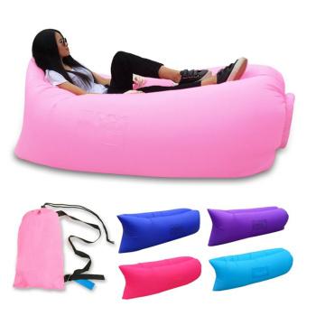 Novely diseño excelente calidad playa al aire libre inflable saco de dormir