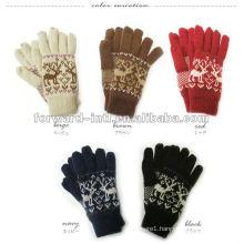 100% fashion cashmere gloves