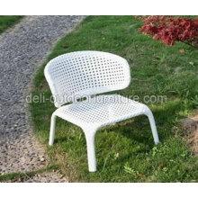 Cadeira de vime ao ar livre do jardim de estilo americano alumínio Bistro