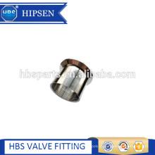 Encaixes de tubulação torneira de braçadeira de aço inoxidável sanitária