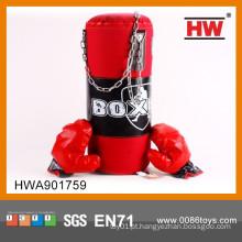 Alta qualidade esporte soft PU brinquedo miúdos luvas de boxe