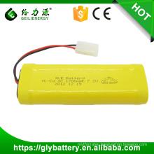Sub C 7.2V 1700mAh NICD Battery Pack For Headlight