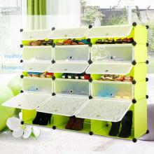 Plegable plástico gabinete armario a medida (transparente)