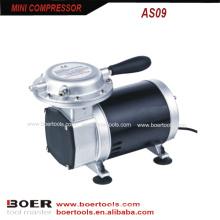 Compressor de ar de 1 / 3HP mini para pintar o compressor portátil