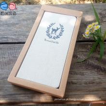 Tecido Hardcover Notebook com caixa para promoção Gift
