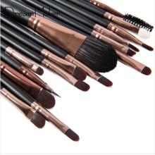 15 PCS Synthetic Hair Brush Eye Liner Eye Shadow Makeup Tool